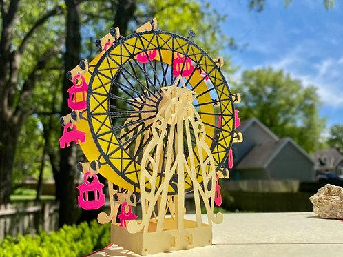 Giant Ferris Wheel (in various colors)
