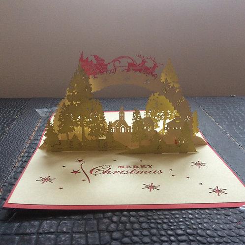 Santa's Golden Village