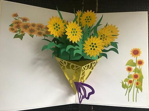 Kansas Sunflower Bouquet
