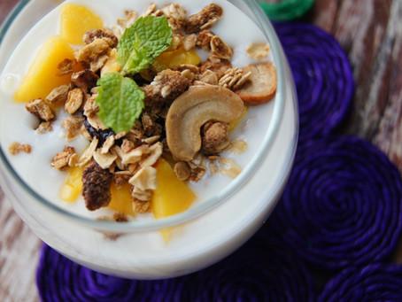 como fazer iogurte de coco