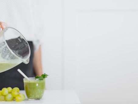 detox e suco verde