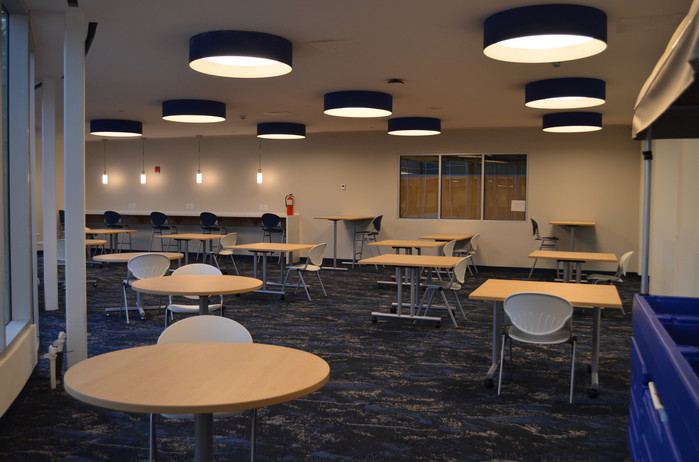Student Commons ready for use