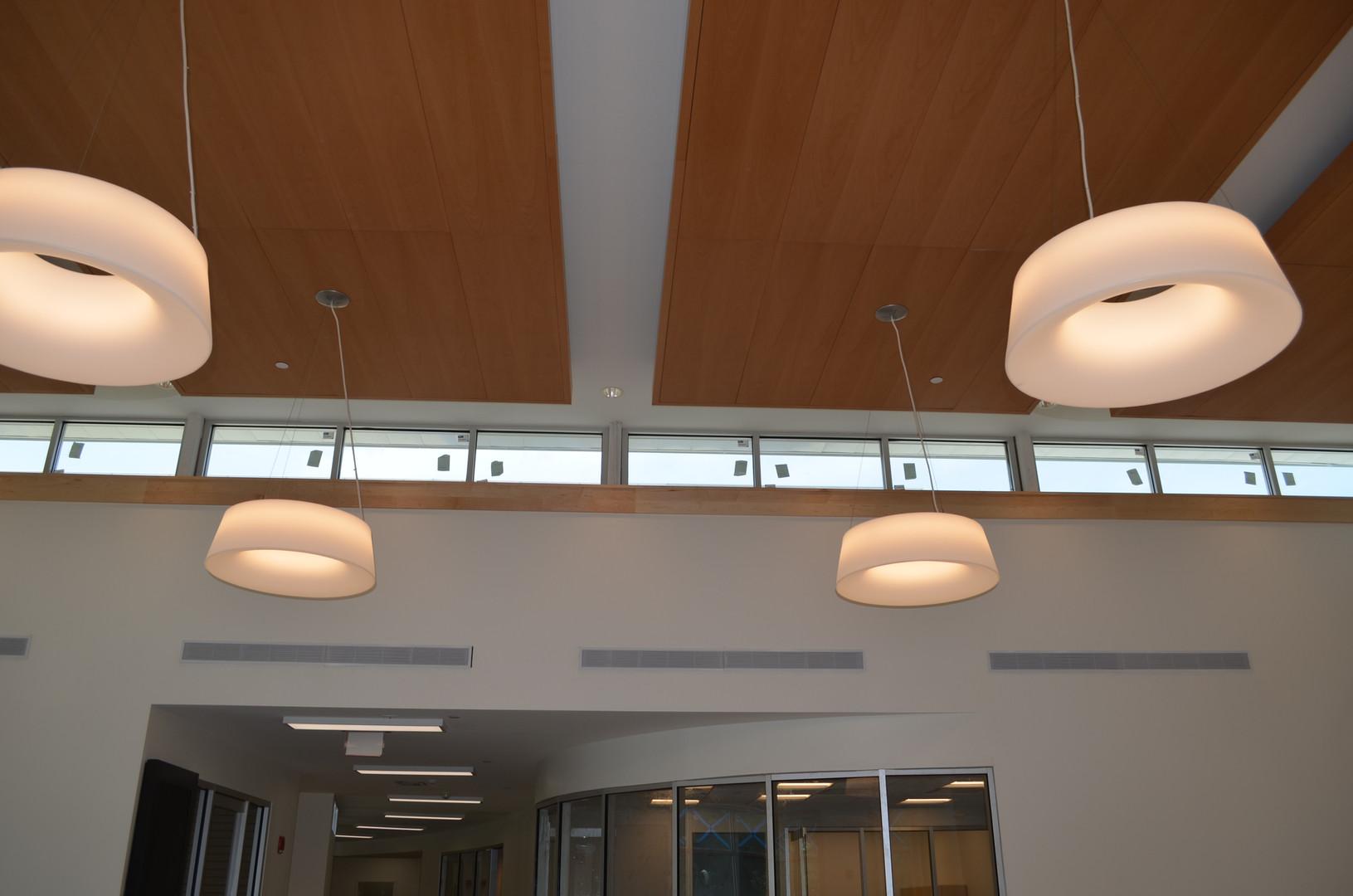 Fabulous new lobby lights