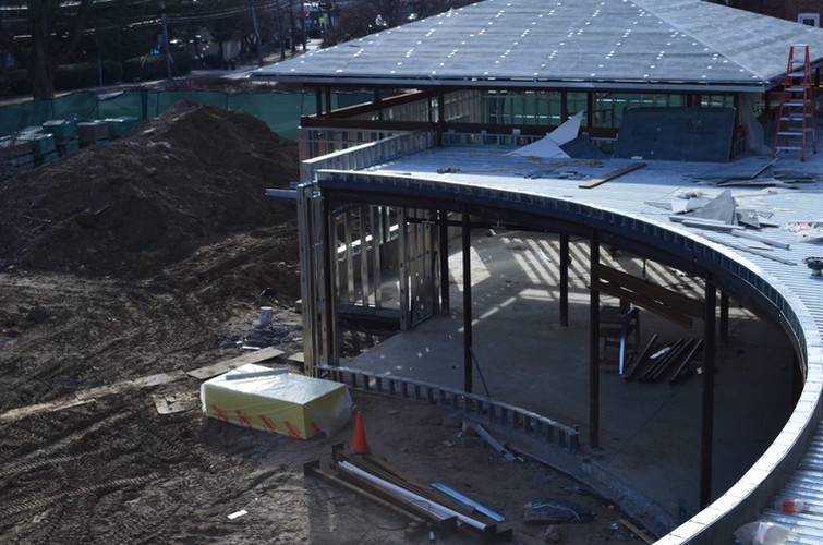 Roof over the iHub