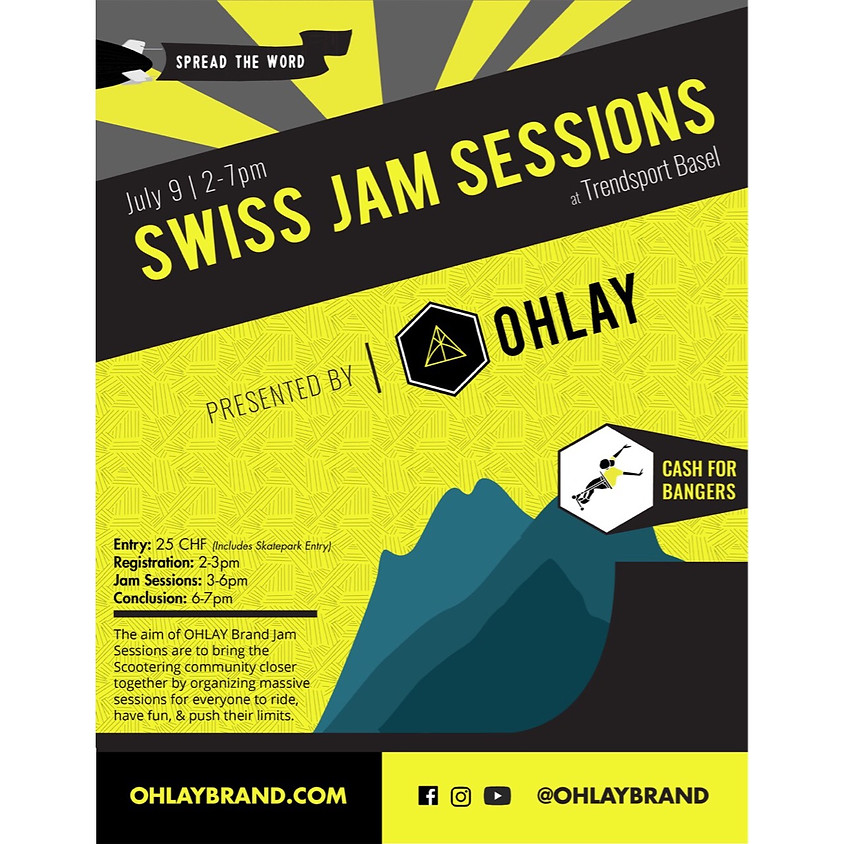 SWITZERLAND: OHLAY Brand Jam Session