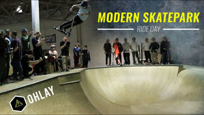 (454) OHLAY Brand | Modern Skatepark Ride Day 2019
