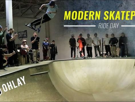 (454) OHLAY Brand   Modern Skatepark Ride Day 2019