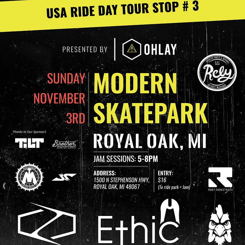 Michigan Ride Day   Modern Skatepark