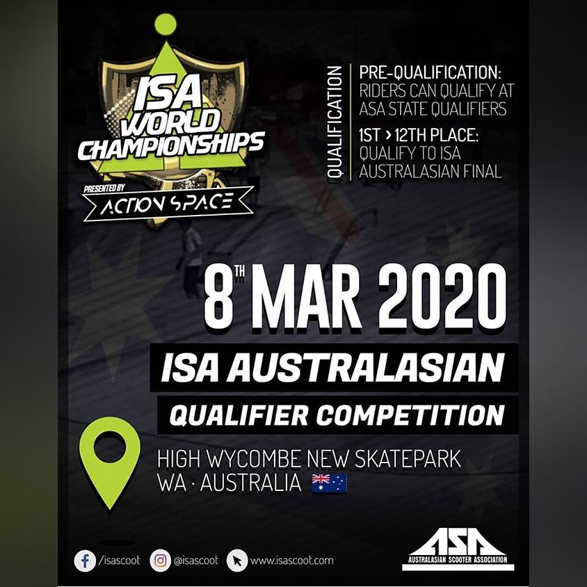 ISA Australasian Qualifier
