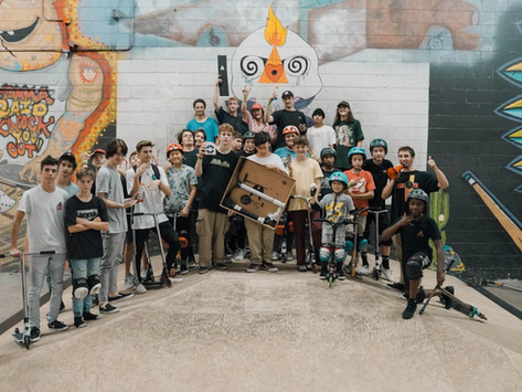 (400) OHLAY Brand   Ride Day at Metro Skatepark - Orlando, Florida
