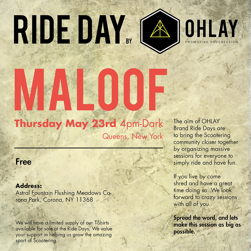 NEW YORK: OHLAY Brand Ride Day (1)