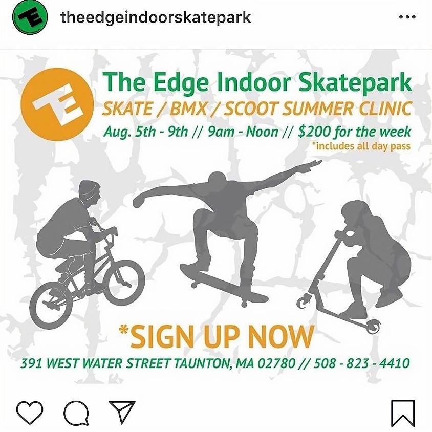 The Edge | Summer Scooter Clinic