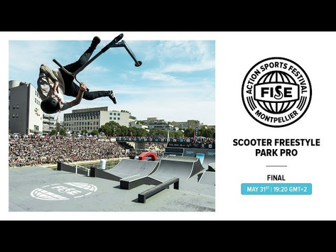 (284) FWS 2019 MONTPELLIER: Scooter Freestyle Park Pro Final