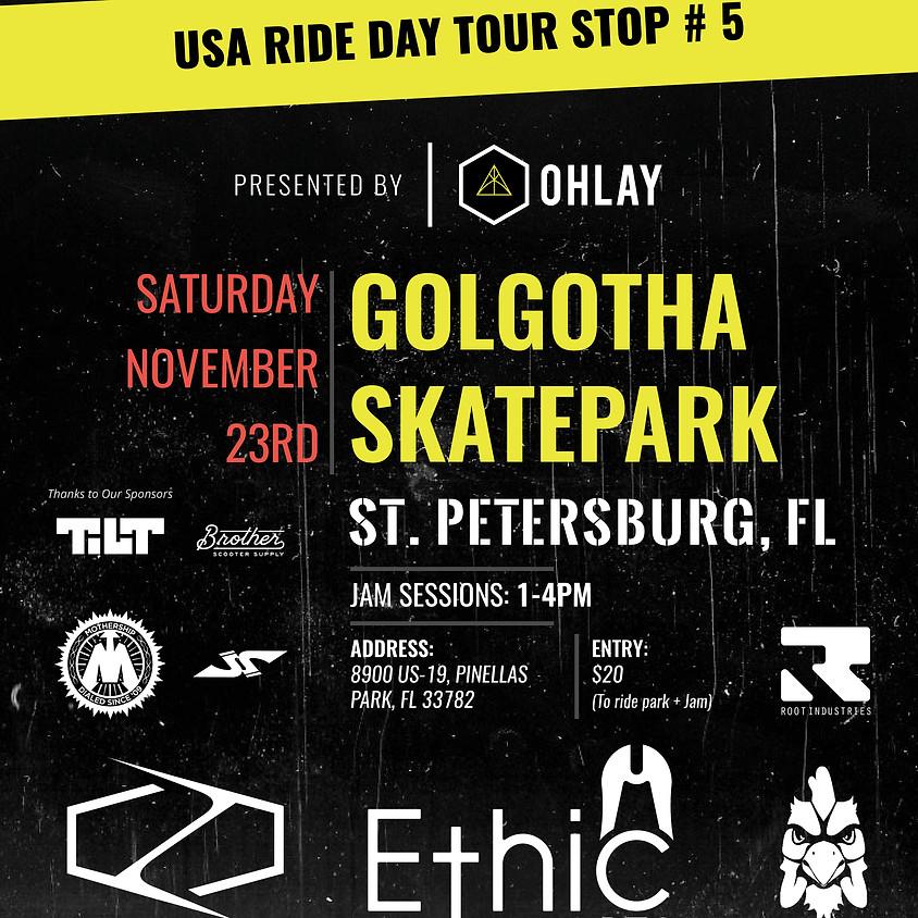 Florida Ride Day   Golgotha Skatepark