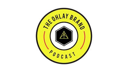 The OHLAY Brand Podcast - Horizontal PNG