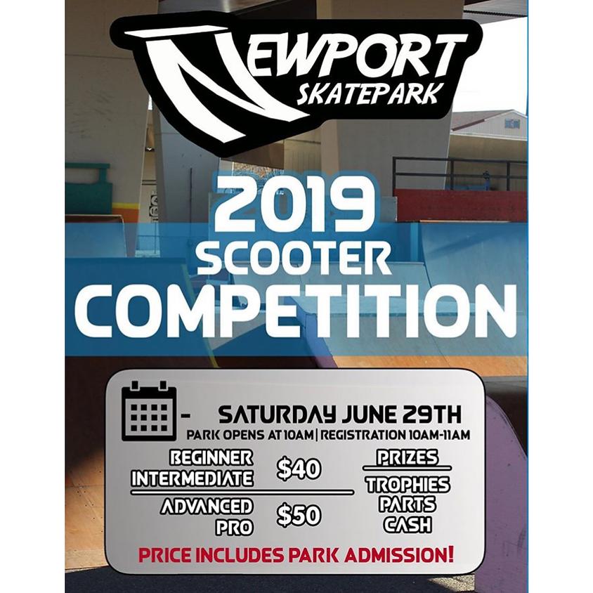 Newport Skatepark | 2019 Scooter Competition