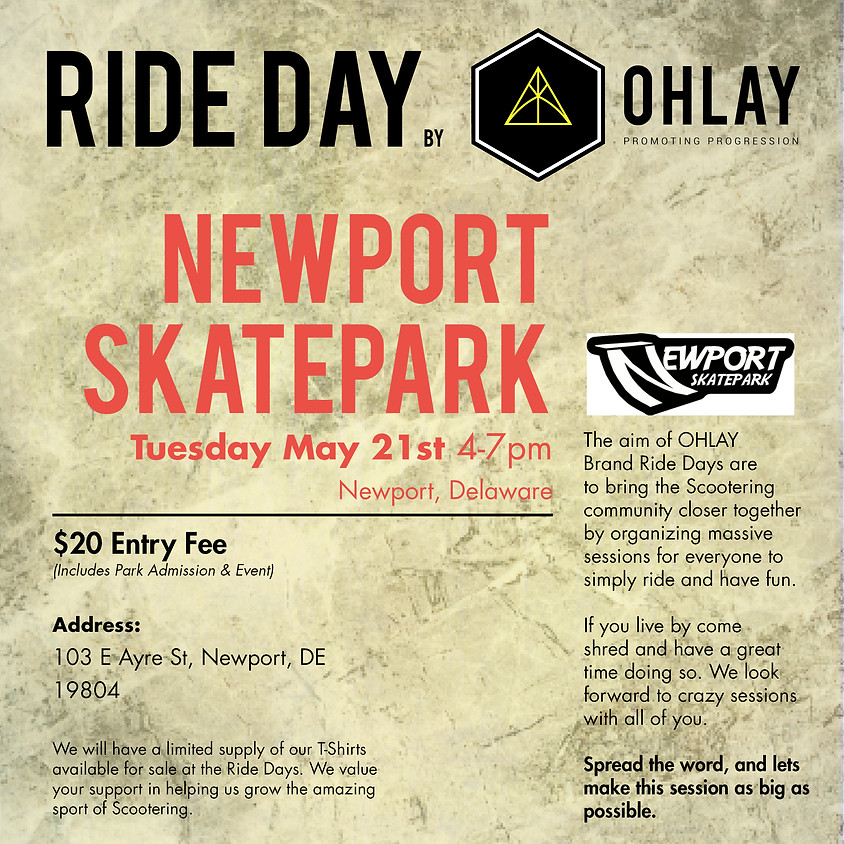 DELAWARE: OHLAY Brand Ride Day