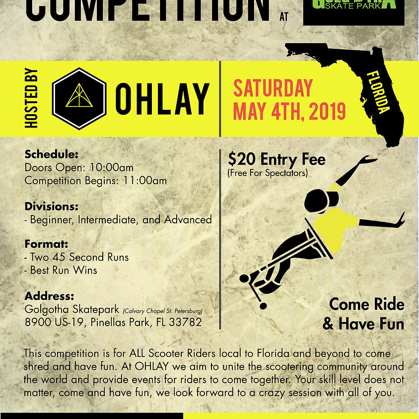 FLORIDA: Golgotha Skatepark Competition