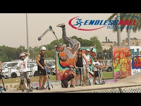 (328) EndlessRoll BANG feat Clayton Lindley & Will Cashion in Tel Aviv