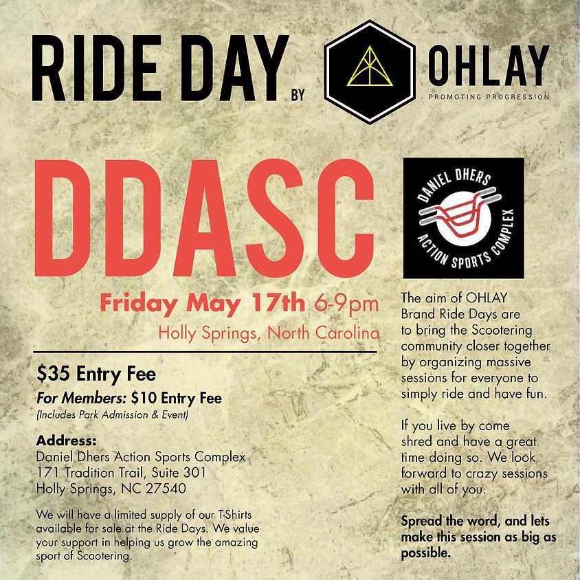 NORTH CAROLINA: OHLAY Brand Ride Day