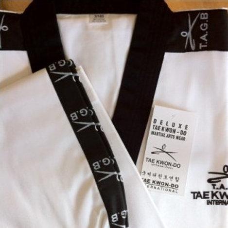 TAGB Black Belt Belt Dobok
