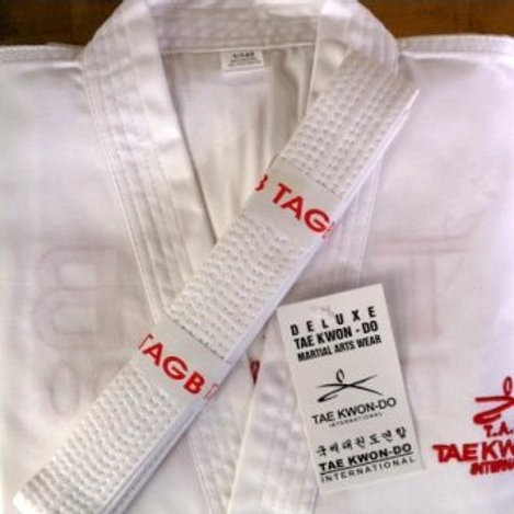 TAGB Coloured Belt Dobok