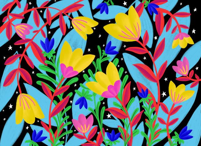Les fleurs enchantées