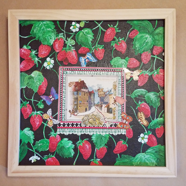 Once upon a time in the strawberry patch