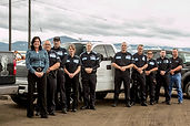 Black Knight officers are all former military, police, or private security in Montana