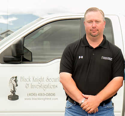 Wade and Kris are owners of Black Knight Security and Investigation in Montana Billings Missoula