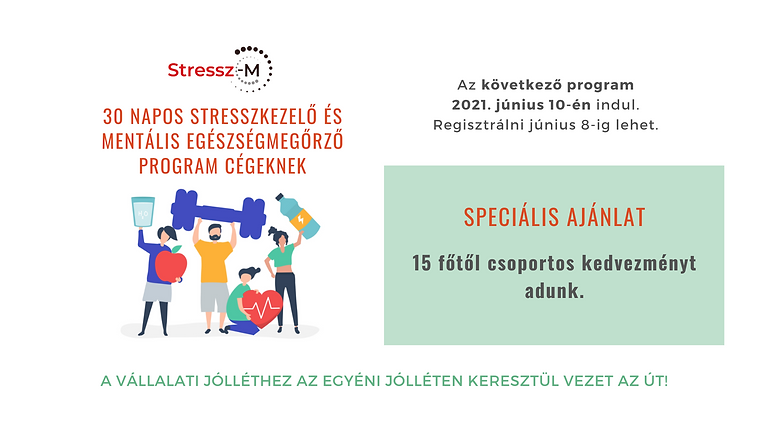 30 Napos Stresszkezelő és Mentális Egészségmegőrző Program Cégeknek