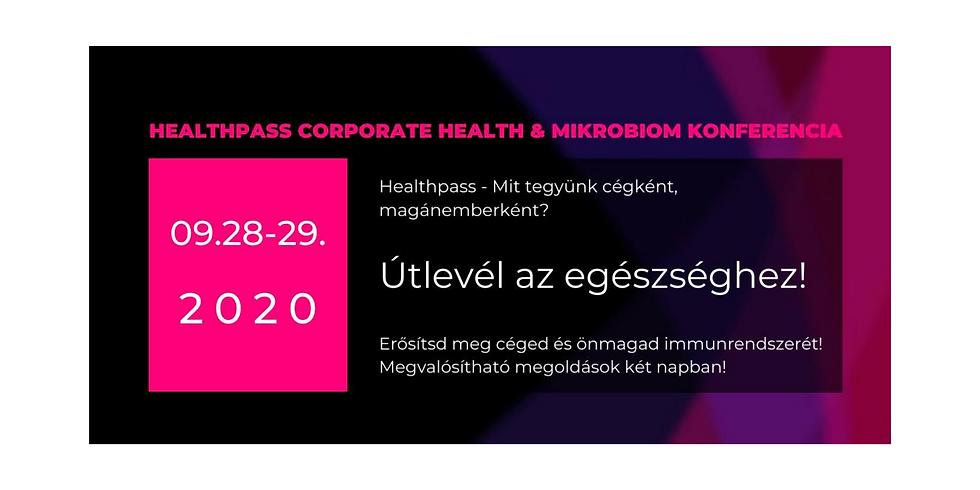 Healthpass Konferencia: Útlevél az Egészséghez!