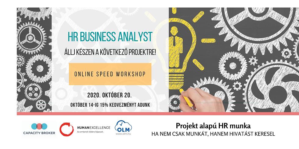 HR Business Analyst - Online Speed Workshop