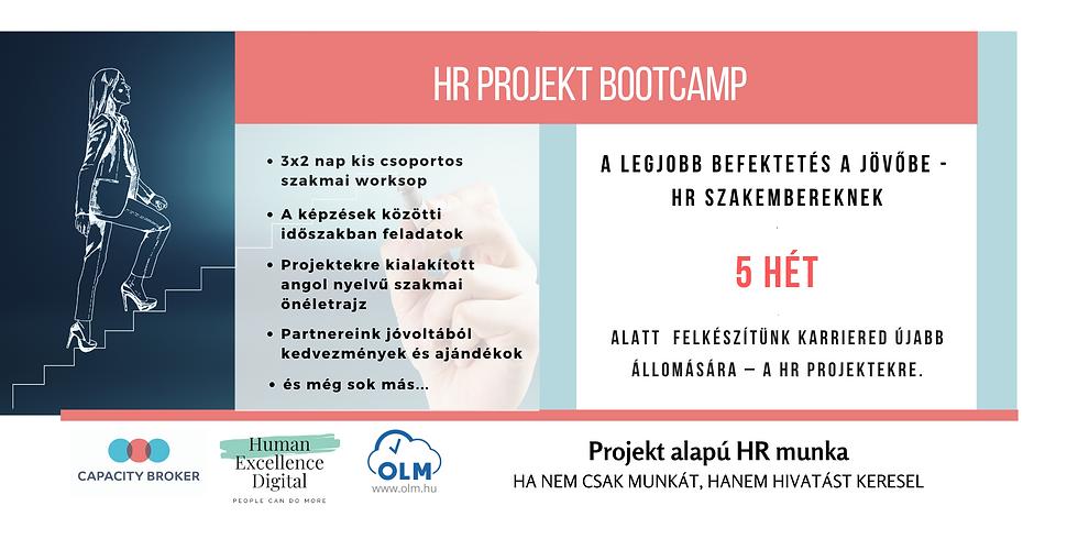 HR Projekt Bootcamp  - jövőálló tudás HR szakembereknek