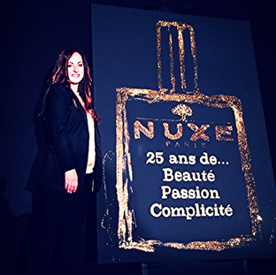 New packaging / Nuxe