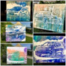 boris normand speed painting glitter liv