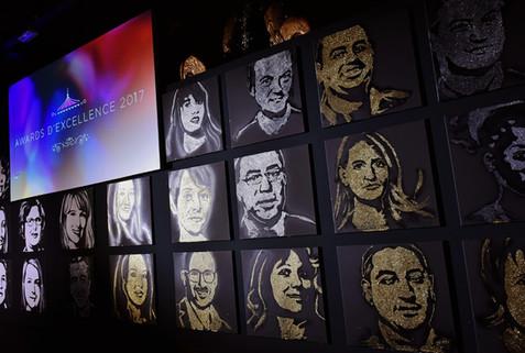 Cérémonie de remise Awards