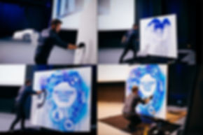 BMW MUNICH Boris Normand live painting s