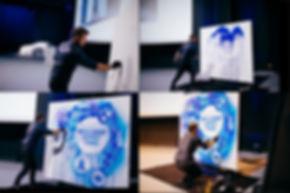BMW MUNICH Boris Normand live painting s