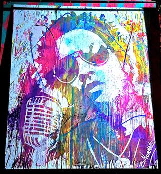 Portrait de Lenny Kravitz