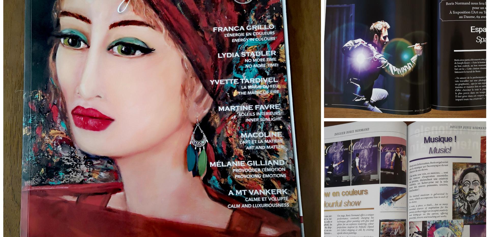 """Parution dans la revue d'art """"Art & Design"""""""