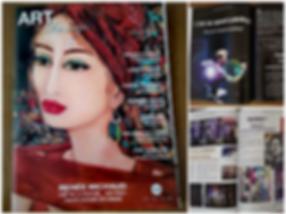 Magazine Art & Design Numéro Août / Sept / Oct 2018 Boris Normand Artiste peintre Performer
