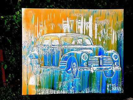 Boris Normand Speed Glitter Painting, pe