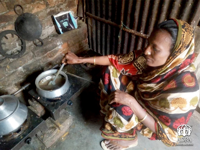 The scenario of Slum: A Touching Story of Minara Begum