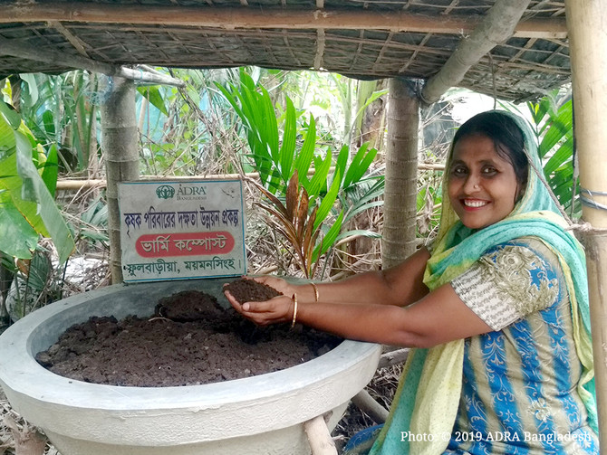 Capacity Building of Farmers Family (CBFF) Project Helps Transforming Lives