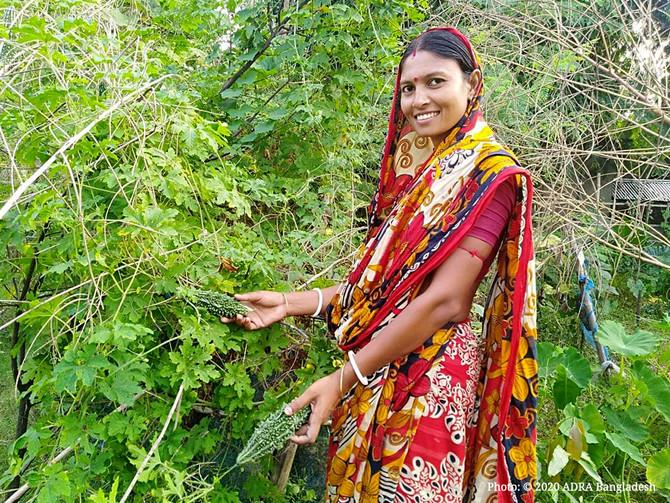 Bringing Hope Through Vegetable Gardening