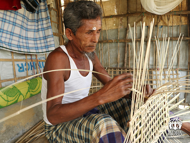 Rohingya Community: The story of an old craftsman