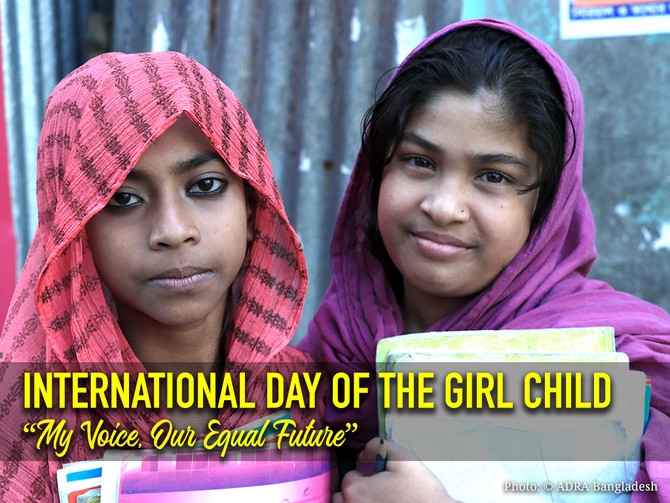 The International Day of the Girl Child