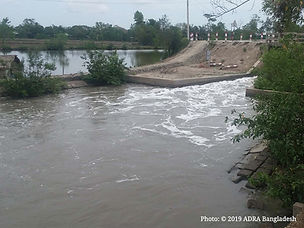 Flood water due to the cyclone.jpg