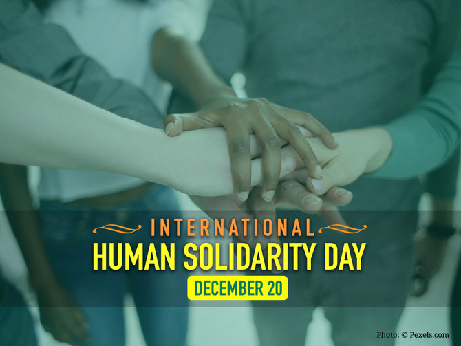 International Human Solidarity Day and its Significance